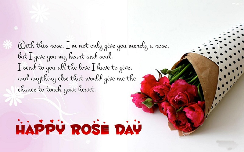 rose day whatsapp status images
