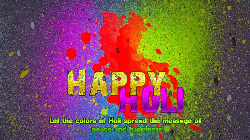 happy holi 2018 pictures