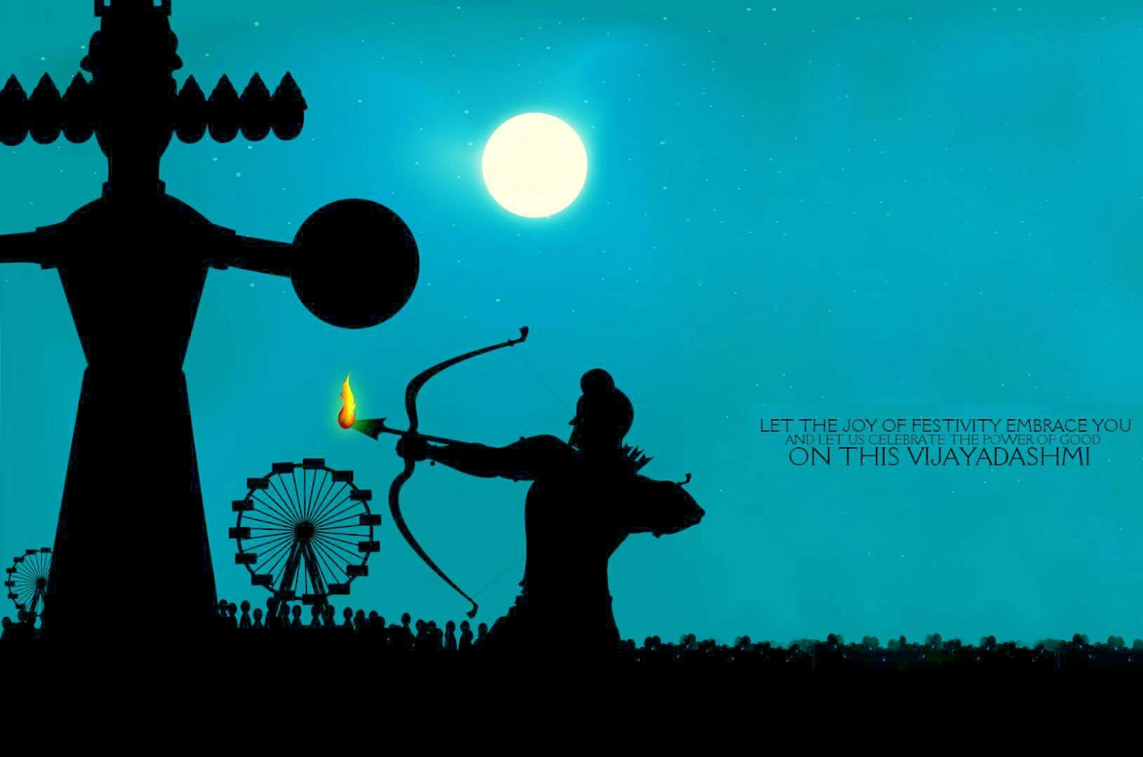 Happy dussehra 2017 wishes images status best whatsapp status happy dussehra images pictures and wallpapers kristyandbryce Images