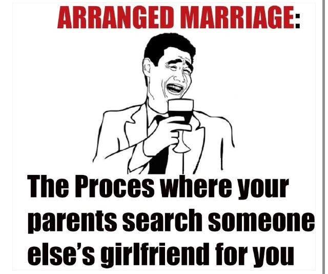 Arrange Marriage Jokes